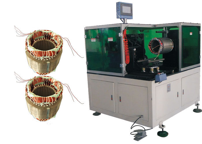 Multi Layer Automatic Coil Winding Machine For Micro Air Conditioner Motor - DW350