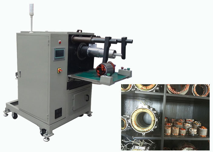 Long Stack Length Pump Motor Stator Coil Winding Inserting Machine SMT-QX10
