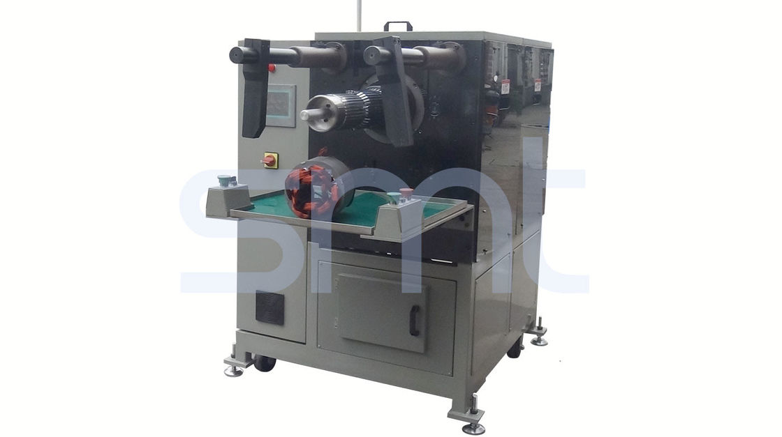 Semi Automatic Winding Inserting Machine , Motor Stator Slot Winding / Coil Inserting Machine